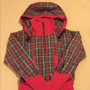 Lululemon cropped hoodie jacket